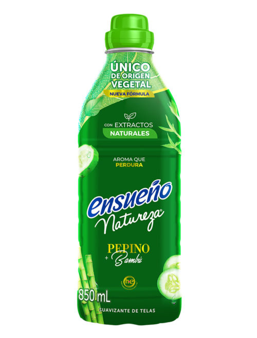 ENSUENO PEPINO BAMBU 850 ML  12 UDS
