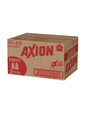 AXION 250 GR + 2 AXION 400 ML  12 UDS